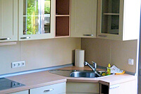 Küche 1 Ferienwohnung bei Bad Oldesloe