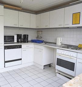 Küche der Pension Stormarn